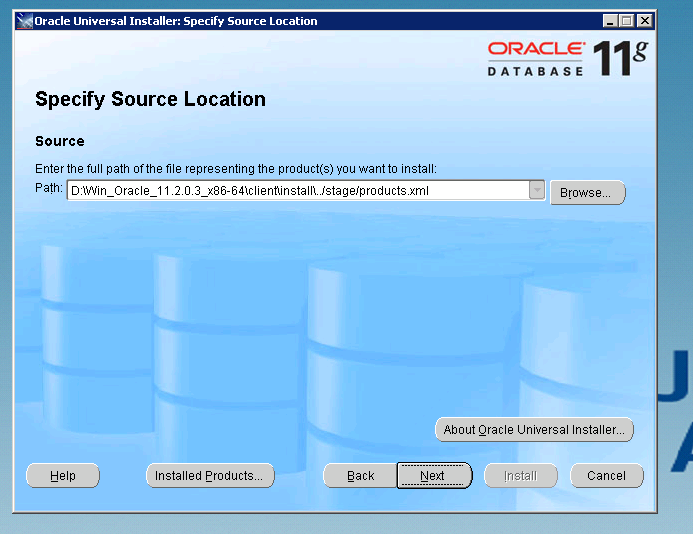 How to install the SQL Loader for Oracle 11g – Geodata Master